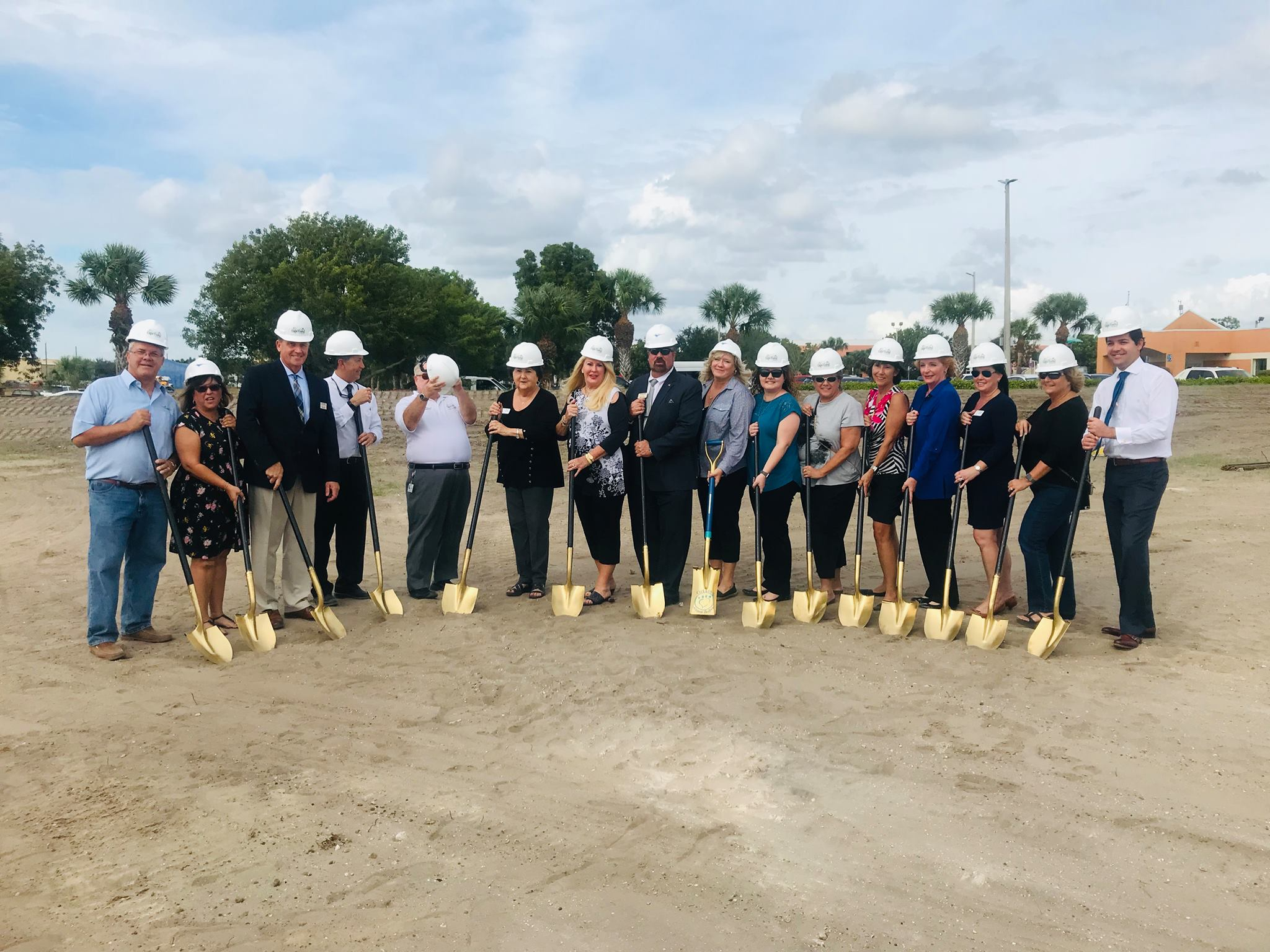 Cape Coral Animal Shelter Groundbreaking Ceremony